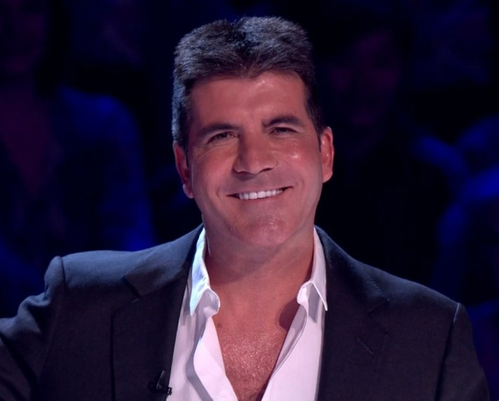Simon Cowell has something to smile about