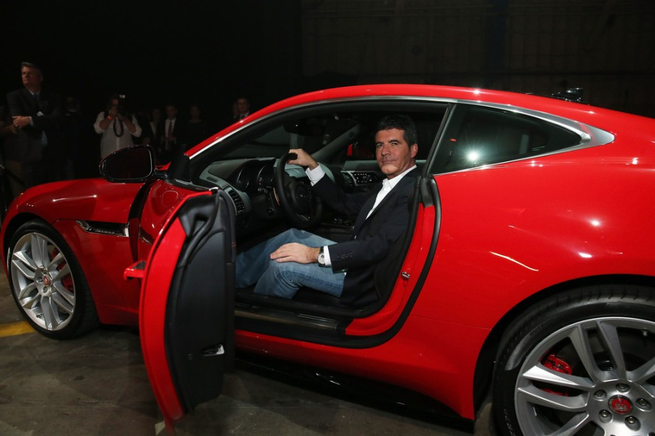 Simon+Cowell+New+Jaguar+F+TYPE+Coupe+Makes+nEADpAfTIXFx